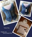Upcycling-Kissen